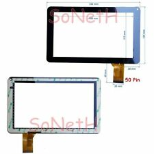 "Vetro Touch screen Digitizer 9,0"" MASTER MID900 Tablet PC Nero"