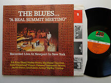 The Blues... A REAL SUMMIT MEETING Live Newport GERMANY 2 LP ATLANTIC (1973) NM