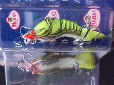 Mann's Lite 1/8oz Crawdad Lure CD135 for SMALLMOUTH BASS in CHARTREUSE CRAWFISH