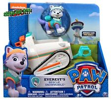PAW PATROL EVEREST RESCUE SNOWMOBILE VEHICLE Nick Jr New Release 2015 IN STOCK!