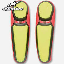 Alpinestars Yellow/Red Replacement Toe Sliders for SMX-5 Boots  25SLISMX11-53
