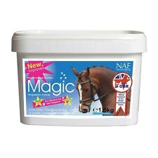 NAF MAGIC 5* CALMER HORSE SUPPLEMENT MAGNESIUM  NERVOUS COMPETITION TRAVEL 750g