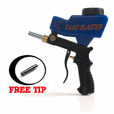 Gravity Feed Speed Portable Air tool Sandblaster Sand Blasting Nozzle Gun Tip UK