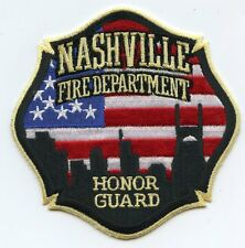 NASHVILLE TENNESSEE TN Honor Guard FIRE PATCH