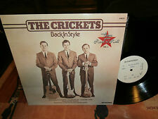 """the crickets""""back in style"""".lp12""""or.fr de 1977..promo édition-ultra rare."""