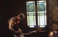 VALERIE KAPRISKY LA FEMME PUBLIQUE 1984 DIAPO DE PRESSE VINTAGE SLIDE #11