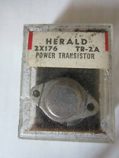 New Old Stock - Herald 2 x 176  TR-2A Power Transistor