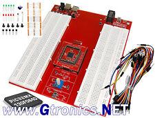 PicProtoBoard 32 bit BASE Kit: Solderless Prototyping for PIC - Gtronics.NET