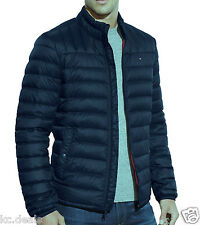 Tommy Hilfiger Quilted Red Navy Royal Down Packable Puffer Coat Jacket MSRP $195