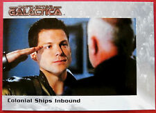 Battlestar galactica-premiere edition-carte #50 - colonial navires entrants