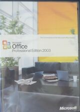 MICROSOFT OFFICE  PROFESSIONAL EDITION UPGRADE 2003  W/ KEY AND BUSINESS MANAGER