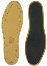 LEATHER FULL LENGTH INSOLES - SIZE 3/4 Eur 36/37