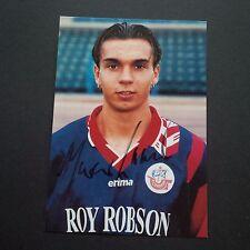 MARCO LAASER FC HANSA ROSTOCK signiert 10 x 15 Autogrammkarte !