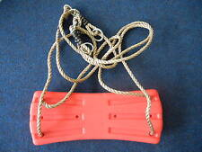 Hills Compatible Winged Red Seat on Ropes NEW Replacement Swing Set Parts