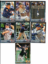 2015 Topps Mini Limited Edition Online Exclusive Black #632 Kyle Gibson #6/10