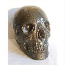 5 pulgadas cráneo decoración de jardín MOLDE/Molde de látex./Moldes