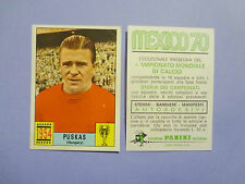 FIGURINA PANINI CALCIATORI STICKERS MEXICO 70 1970 HUNGARY 1954 PUSKAS NEW-FIO