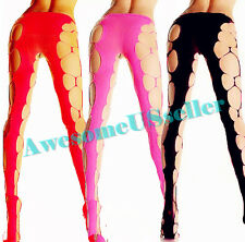 Women Sexy Black Fishnet Floral Pantyhose Stocking Tights Plus Size Socks Dress