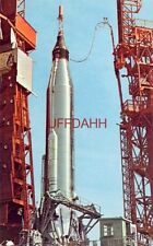 MERCURY REDSTONE LAUNCH VEHICLE READIED FOR LAUNCH, MAY 5, 1961 & FREEDOM 7