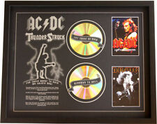 New AC DC ACDC CD Memorabilia Framed