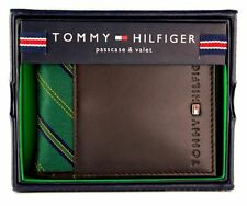 NEW TOMMY HILFIGER MEN'S PREMIUM LEATHER CREDIT CARD ID WALLET BILLFOLD 4272/02