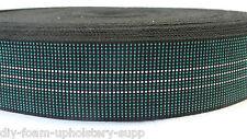 Elasticated JUMBO webbing 10m roll upholstery seat elastic upholstery webbing