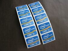 100 pcs Intel Core i3 Inside 15.5mm x 21mm Sticker Label Logo Decal Case Badge