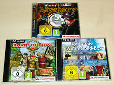 9 WIMMELBILD PC SPIELE SAMMLUNG - ROADS OF ROME MYSTERY LUXOR SAMANTHA SWIFT
