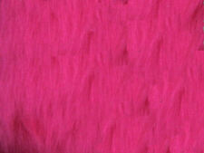 Pink Cerise Plain Faux Fur Fabric Short Hair 150cm Wide SOLD BY THE METRE