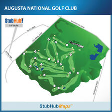 2014 Masters Tickets 04/07/14 (Augusta) 1/2 DAY AFTER 2PM