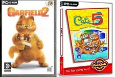 garfield 2 & catz 5     new&sealed