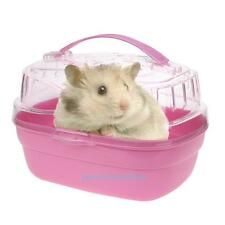 Portable Travel Box Carry Cage Case House For Pet Hamster Mice Rat Small Animal