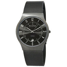 233XLTTM NEW MEN'S  SKAGEN GRENEN TITANIUM WATCH
