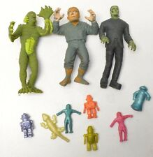 Universal Monsters Rubber Jiggler Creature From Black Lagoon Frankenstein Lot