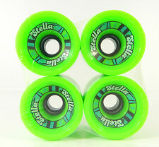 Stella 69mm 78a Offset Longboard Cruiser Wheels Green