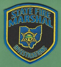 OHIO STATE FIRE MARSHAL ARSON INVESTIGATIONS PATCH