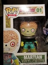 Funko POP!Mars Attacks Martian #1 Extremely Rare! Discontinued! Never Opened!