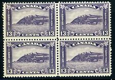 CANADA SCOTT# 201 SG# 325 MINT NH BLOCK OF FOUR AS SHOWN