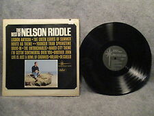 33 RPM LP Record The Best Of Nelson Riddle Capitol Records T 1990 VG+
