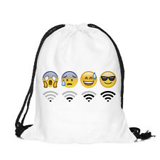 Emoji Cool Backpacks for Kids Cute Bookbags School Bag Boys Girls Back Pack NEW