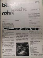 """"""" Bänder - Bleche - Rohre """" Fachzeitschrift Jahrgang 1975 Zeitschrift Metall"""