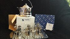Zepter Tea & Coffee Set - set of 6 glasses with accessories