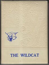 1953-54 YEARBOOK - THE WILDCAT - UNION HIGH SCHOOL - BROWNFIELD TEXAS