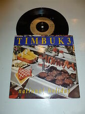 "TIMBUK 3 - National Holiday - 1989 UK 2-Track UK 7"" vinyl single"
