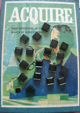 (1) Individual Blank Plastic Tile(s) for 1962-76 ACQUIRE Game.