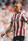 Connor Wickham Autograph SIGNED Sunderland 12x8 Photo AFTAL Sheff Wednesday COA