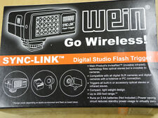 Wein Sync-Link Sync Link Wireless Digital Studio Flash Trigger 918-300 W918300
