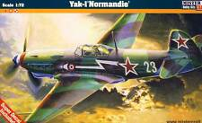 Mc-Yakovlev yak-1m Normandía Soviet WWII Fighter cazador modelo-kit 1:72 Kit