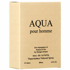 AQUA Pour Homme By Royal For Men EDT Spray 3.3oz Perfume Fragrance NEW IN BOX