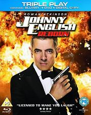 Johnny English Reborn Triple Play Blu-Ray 2012 Brand new and sealed